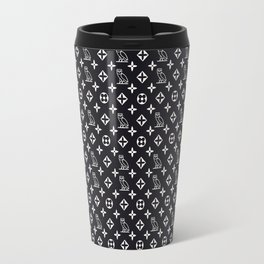 OWL_PATTERN Travel Mug