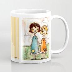 A Childhood Shared - Sister Art Mug