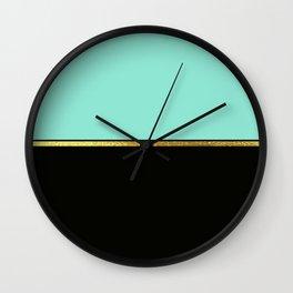 Spring Minimalist Wall Clock