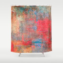 Abstract 0495 Shower Curtain