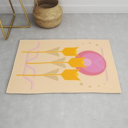 Golden Sunrise Rug