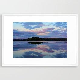Catalone Sunset Framed Art Print