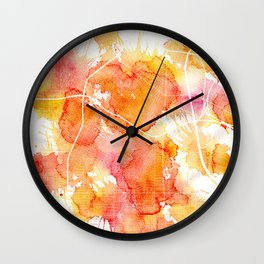 Los Angeles Summer Wall Clock