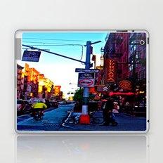 Sun Goes Down  in the City Laptop & iPad Skin