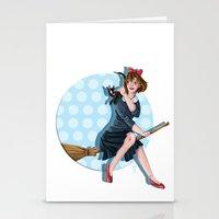 kiki Stationery Cards featuring Modern Kiki by Nicola Davies