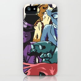 Paper Jam Poster iPhone Case