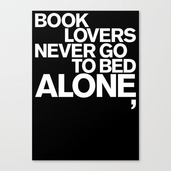 ALONE: NEVER Canvas Print