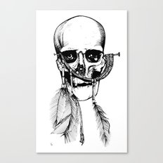 Skull of Time Canvas Print