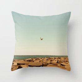 Gull Throw Pillow
