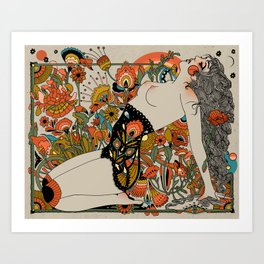 Thrust Art Print