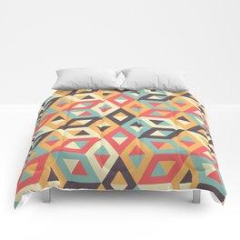 Pastel Geometric Pattern Comforters