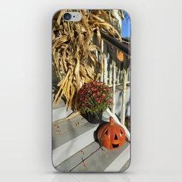 Harvest Jack O' Lantern iPhone Skin