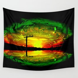 Night Eye Wall Tapestry