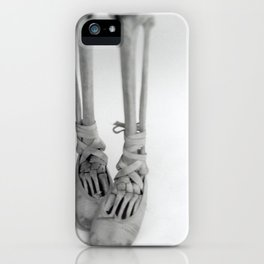 Skeleton Pointe iPhone Case