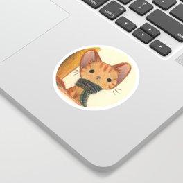 Ginger cat Sticker