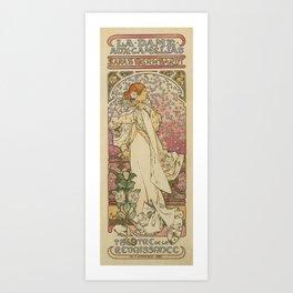 Camille by Alphonse Mucha Art Print