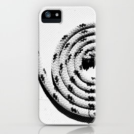 clean line iPhone Case