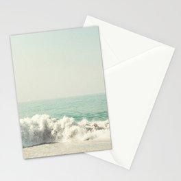 Hard hitting wave Stationery Cards