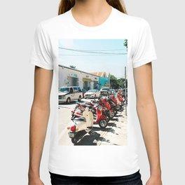 Line of bikes T-shirt