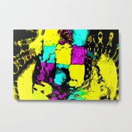 Electric Canvas B Metal Print