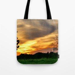 April East Texas Sunset Tote Bag