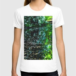 Old Pond in Spring T-shirt