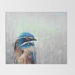 Whiskered Tree Swift Throw Blanket