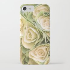 Greenyellow roses Slim Case iPhone 7