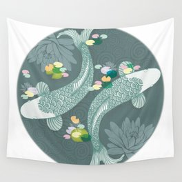 Koi Wall Tapestry