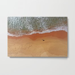Patiently waiting for the perfect surf Metal Print