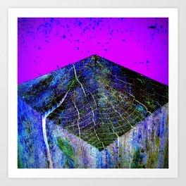 Flat Earth Apocalypse Art Print