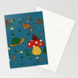 Quirky Mushroom - Cute Friends Stationery Cards