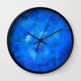 Denitamessa - deep blue world Wall Clock