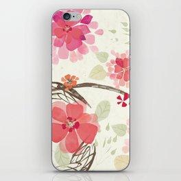 Flora Queen iPhone Skin
