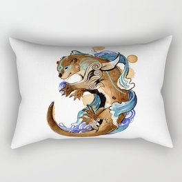 Otter Okami Rectangular Pillow