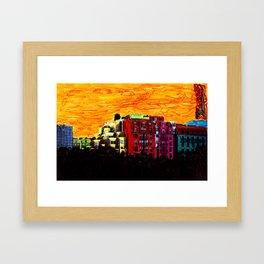 Des Halles 5 Framed Art Print