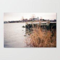 Here on the Coast Canvas Print