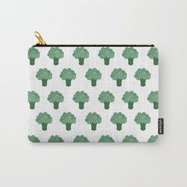 Pattern Green Broccoli  Carry-All Pouch