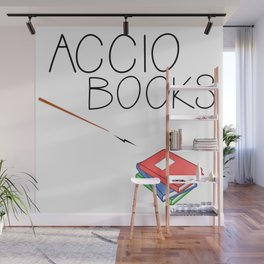 ACCIO BOOKS Wall Mural