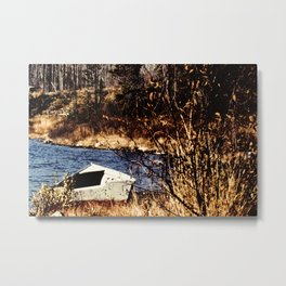 The old rowboat Metal Print