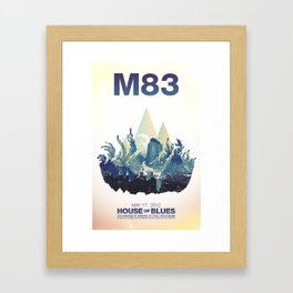 M83 Framed Art Print