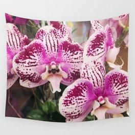 Pink Magenta Elegant Floral Arrangement Close-Up Photo Art Wall Tapestry