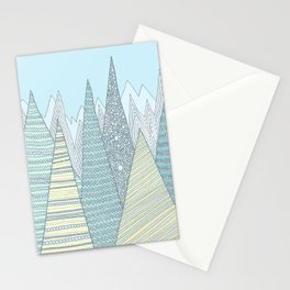 Summer Mountains Stationery Cards