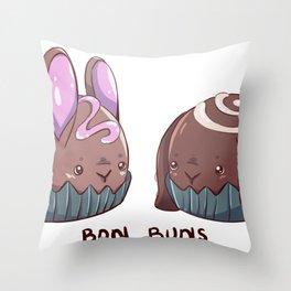 Bon Buns Throw Pillow