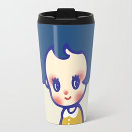 a little girl  Travel Mug