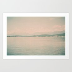 Lake Koocanusa Art Print