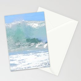 Pastel Wave Stationery Cards