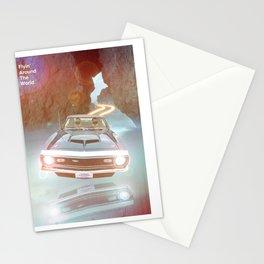 Flyin' Car II Stationery Cards