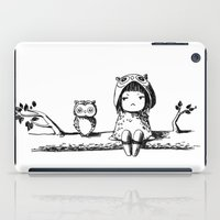 owls iPad Cases featuring Owls by Freeminds