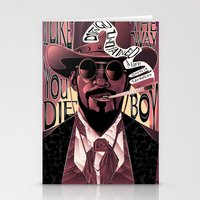 django Stationery Cards featuring Django Poster by eos vector